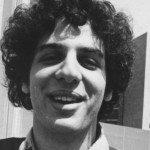A black and white photo of Gordan Korman