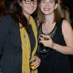 CBC Books producer Erin Balser with ECW Press editor Jen Knoch