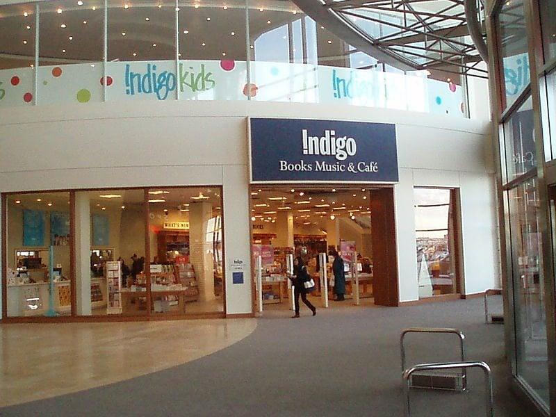 An Indigo storefront