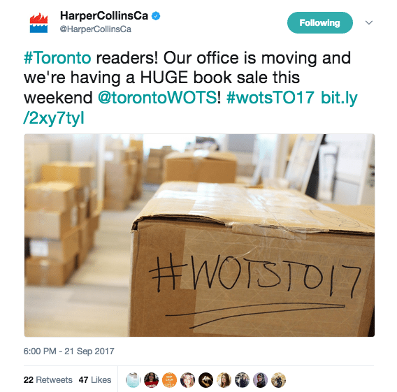 HarperCollins moving