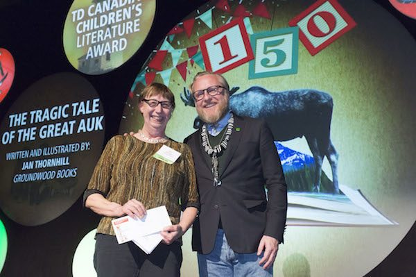 Children's Literature Award Winner Jan Thornhill