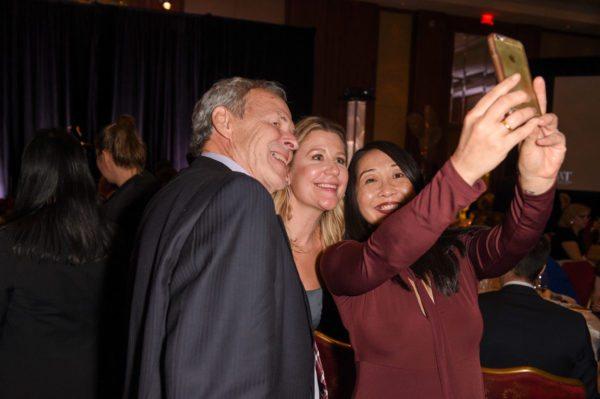 Linden MacIntyre, Marissa Stapley, and Felicia Quon take a selfie