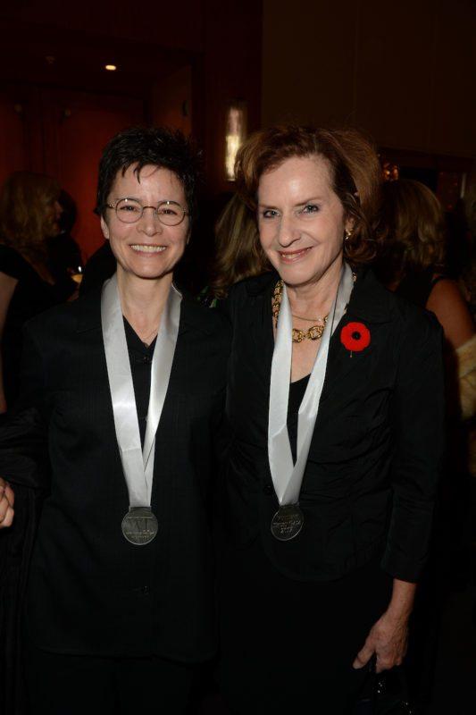 Ann-Marie MacDonald and Carol Off