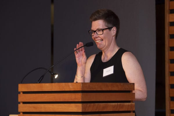 Heather Smith at the TD Children's Literature Award