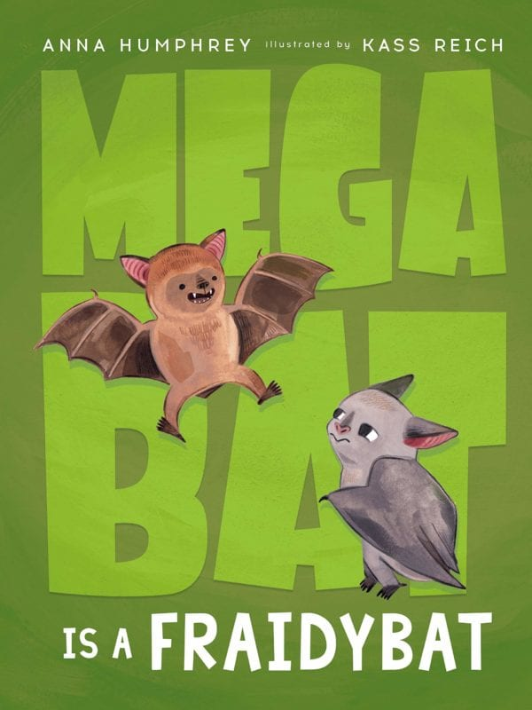 Mega Bat is a Fraidybat