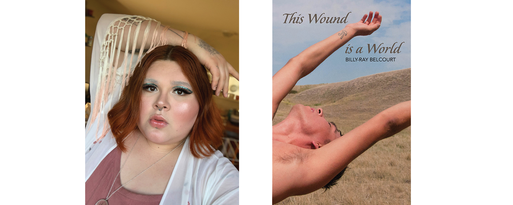 jaye simpson does a book look for This Wound is a World by Billy-Ray Belcourt