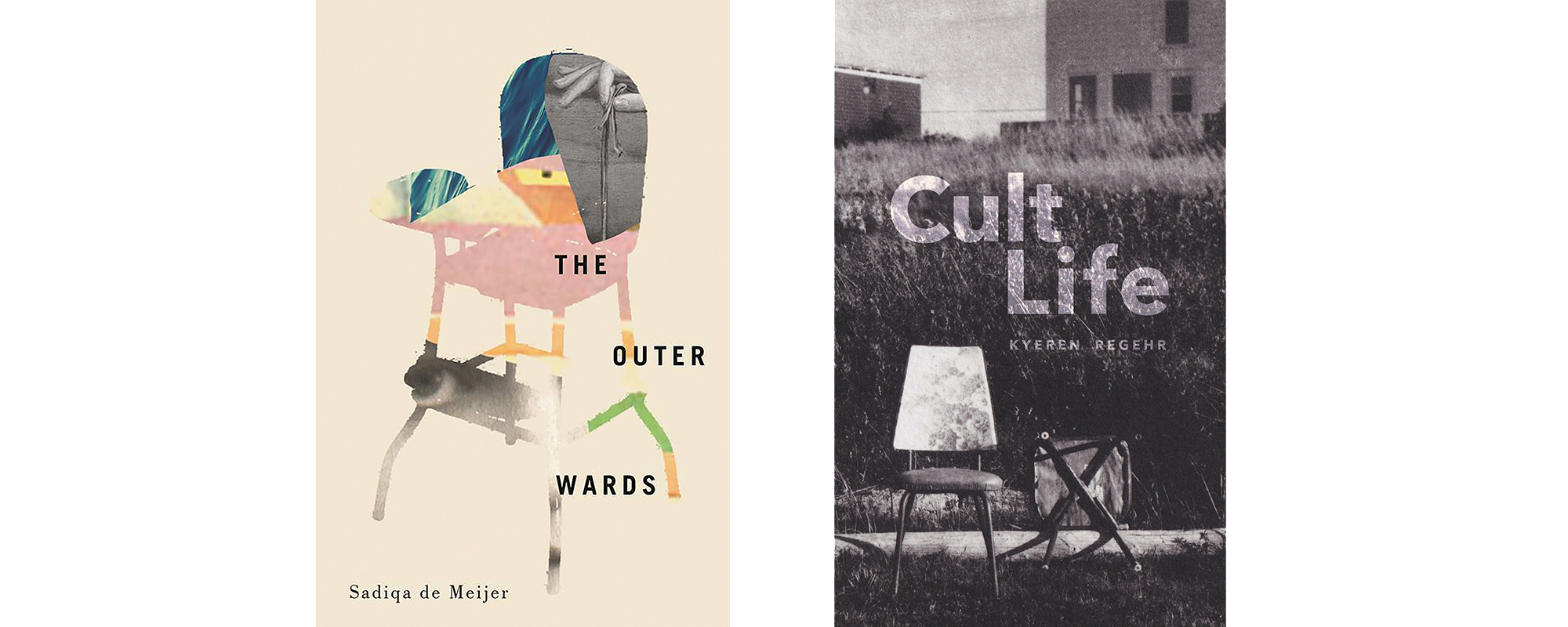 Covers for The Outer Wards and Kyeren Regehr's Cult Life