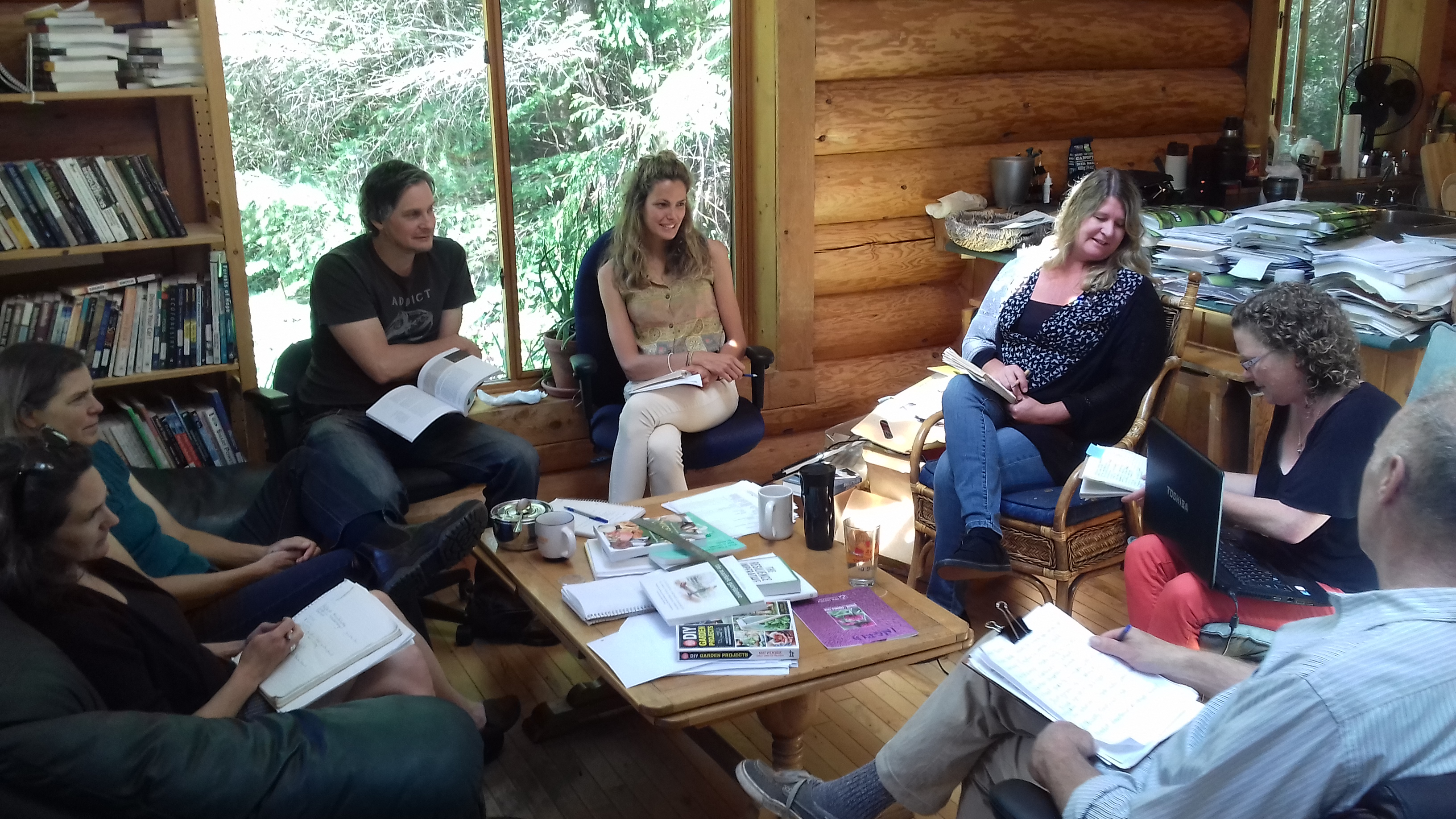 New Society Publishers concept meeting