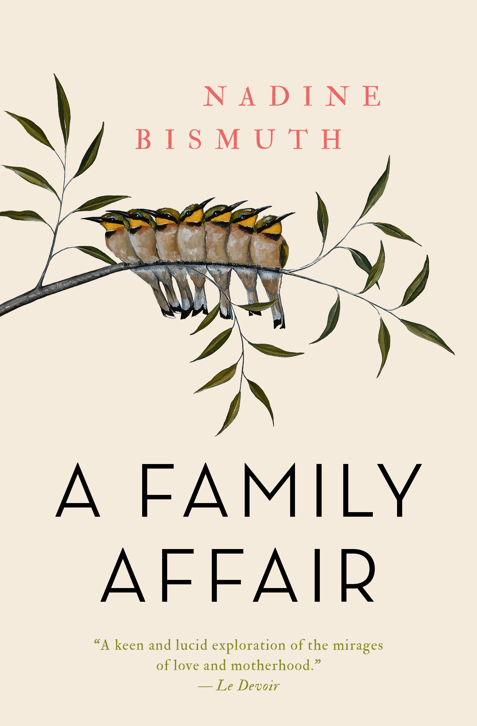 A Family Affair by Nadine Bismuth; Russell Smith, trans.