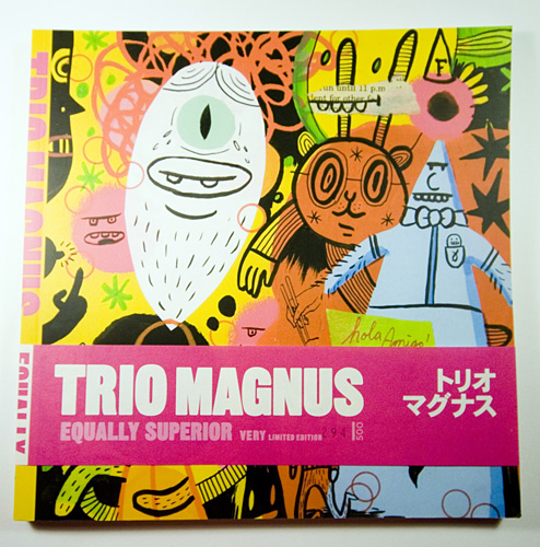 The cover of Trio Magnus's Equally Superior
