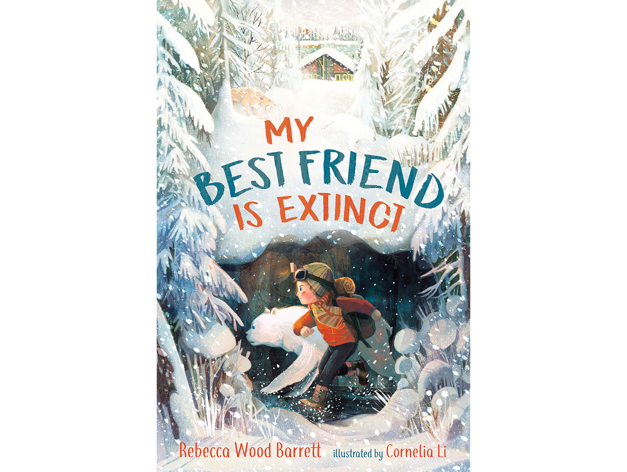 Cover for My Best Friend is Extinct