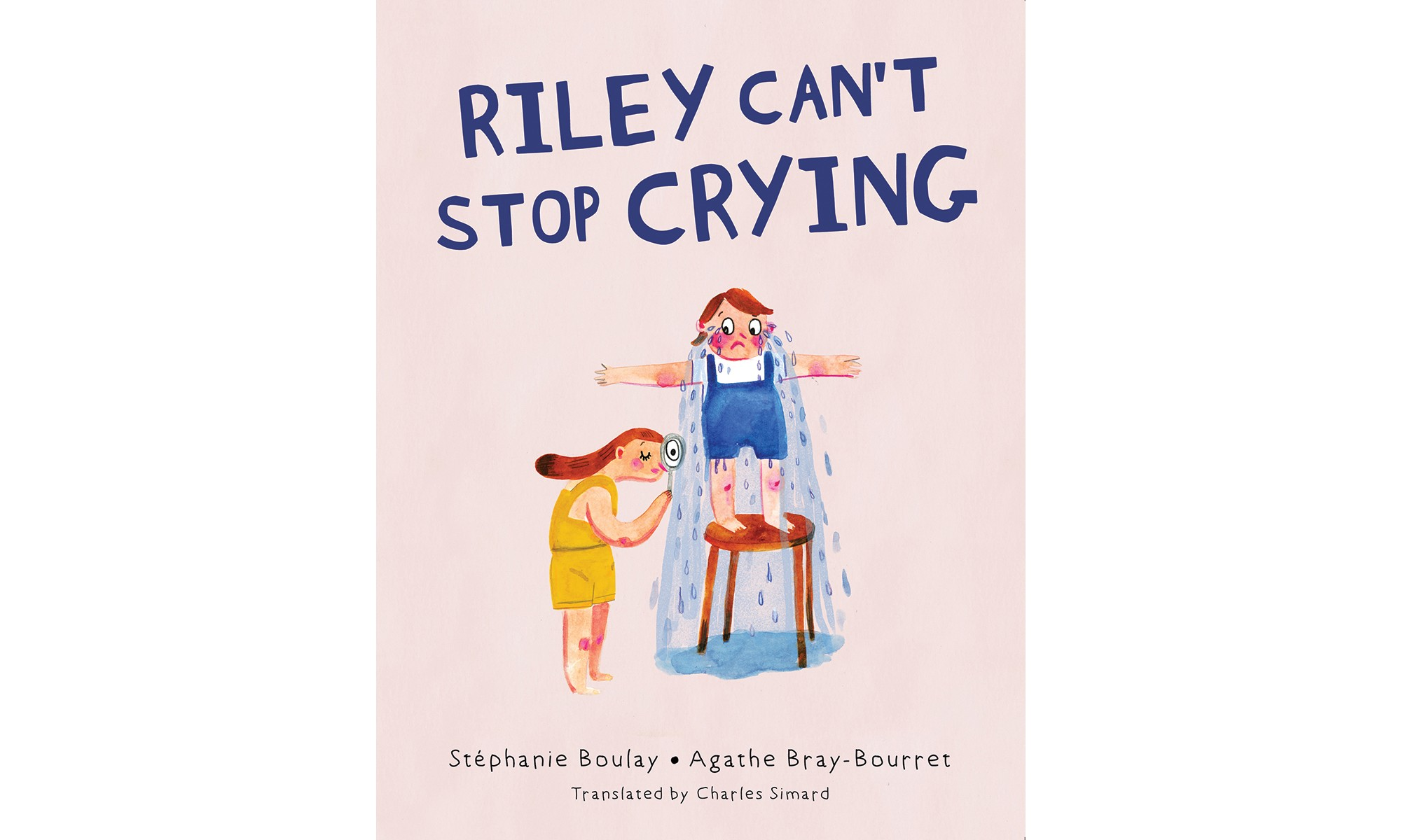 Cover for Riley Can't Stop Crying