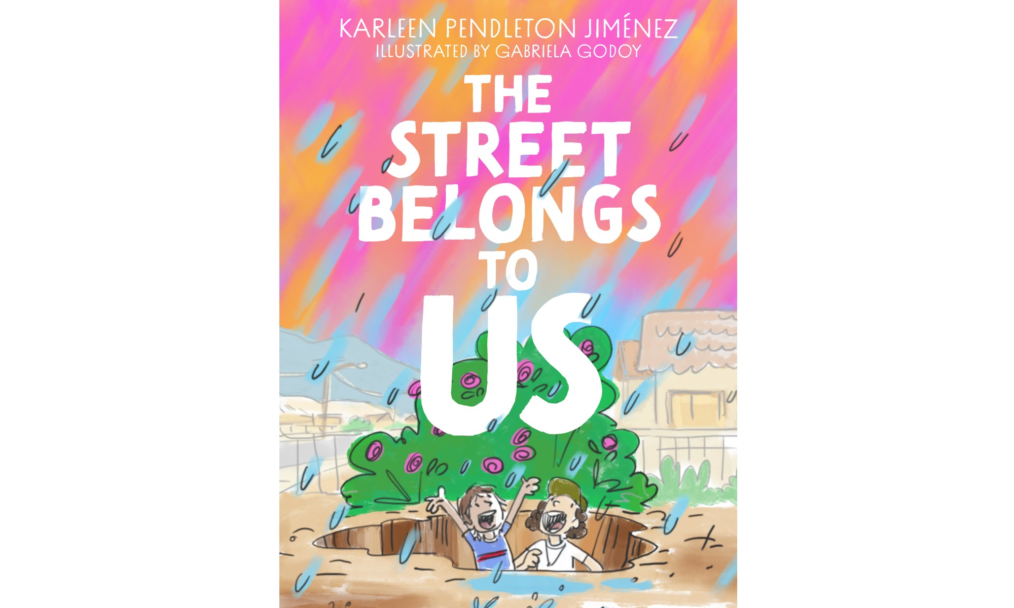 The cover of The Street Belongs to Us