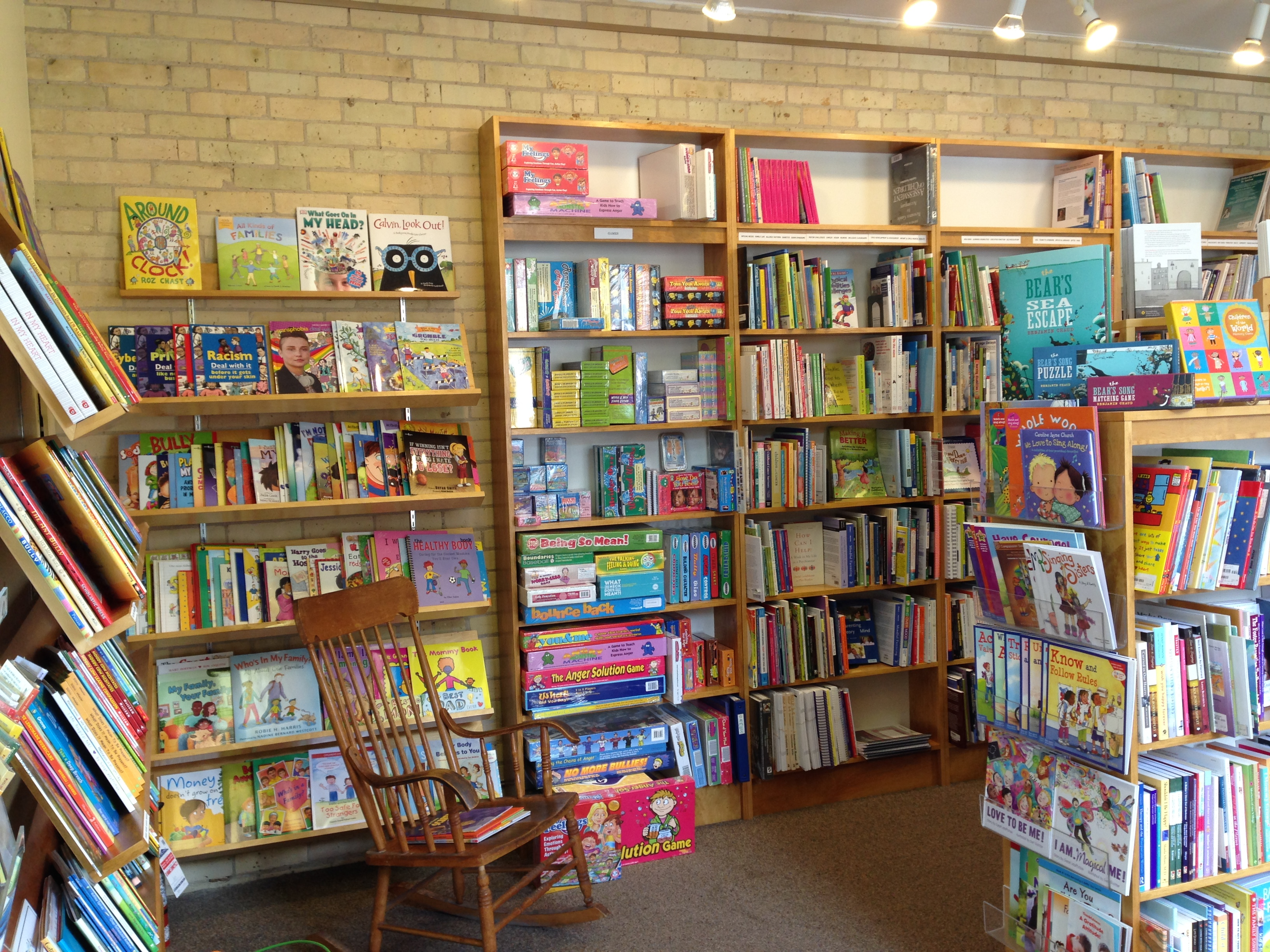 Parentbooks children's corner