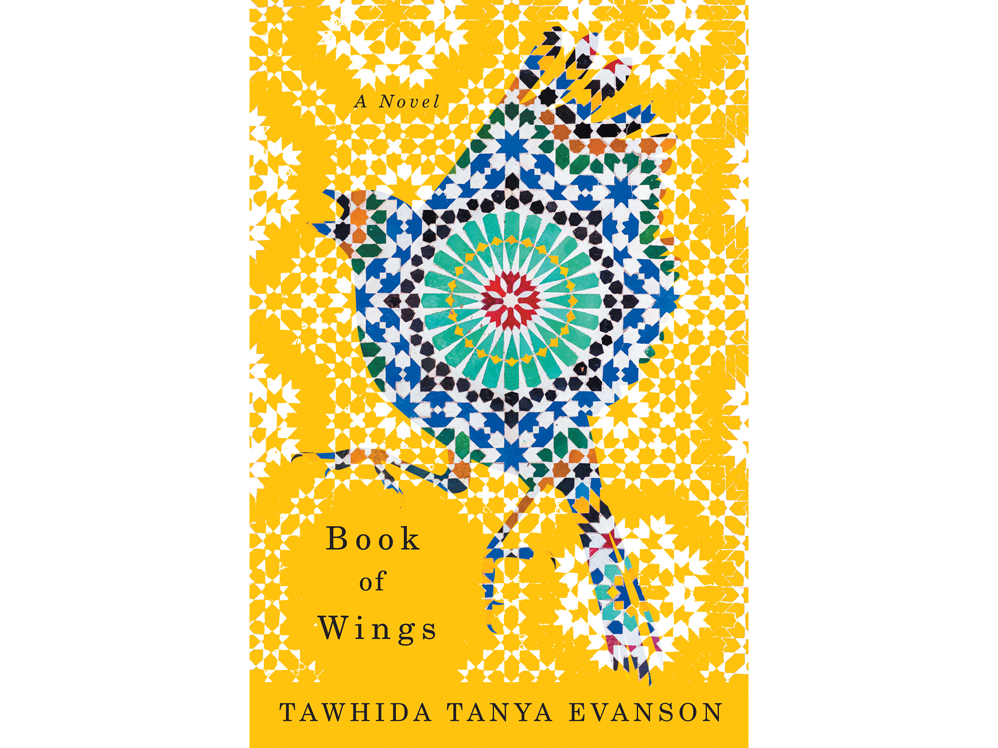 The cover of Tawhida Tanya Evanson's Book of Wings