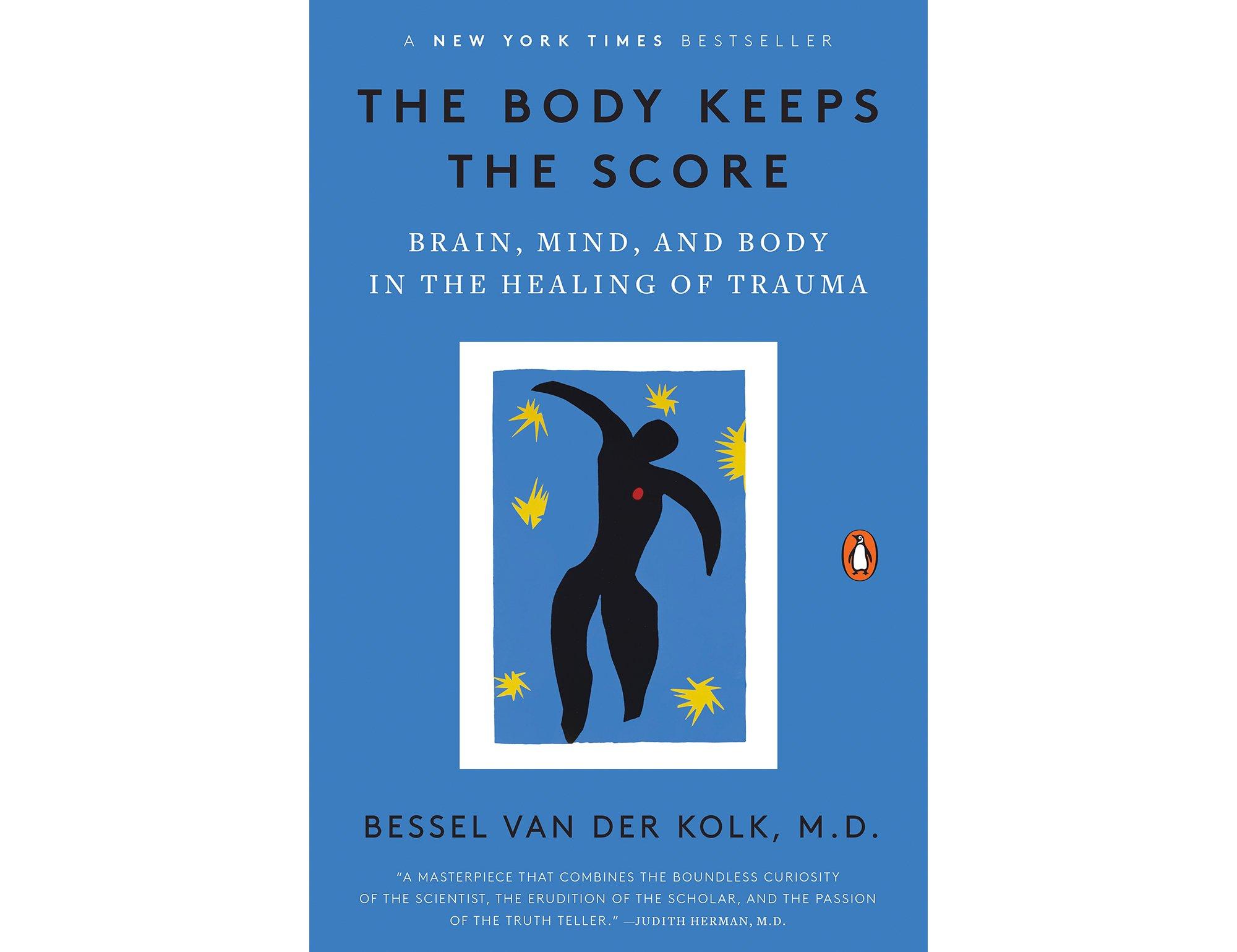 The cover of Bessel van der Kolk's The Body Keeps the Score