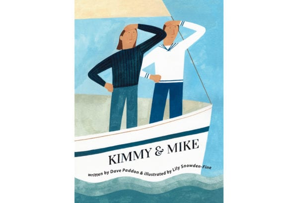 The cover of Dave Paddon's Kimmy & Mike