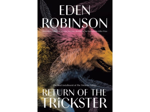 The cover of Eden Robinson's Return of the Trickster