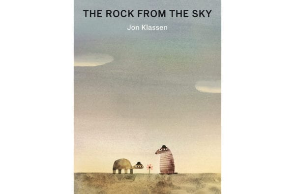The cover of Jon Klassen's The Rock From the Sky