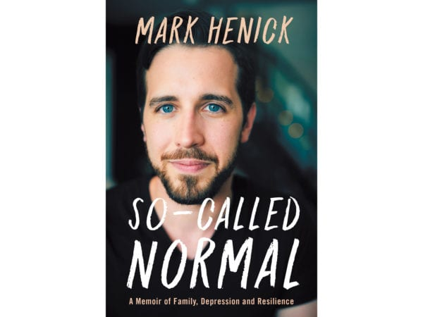 The cover of Mark Henick's So Called Normal