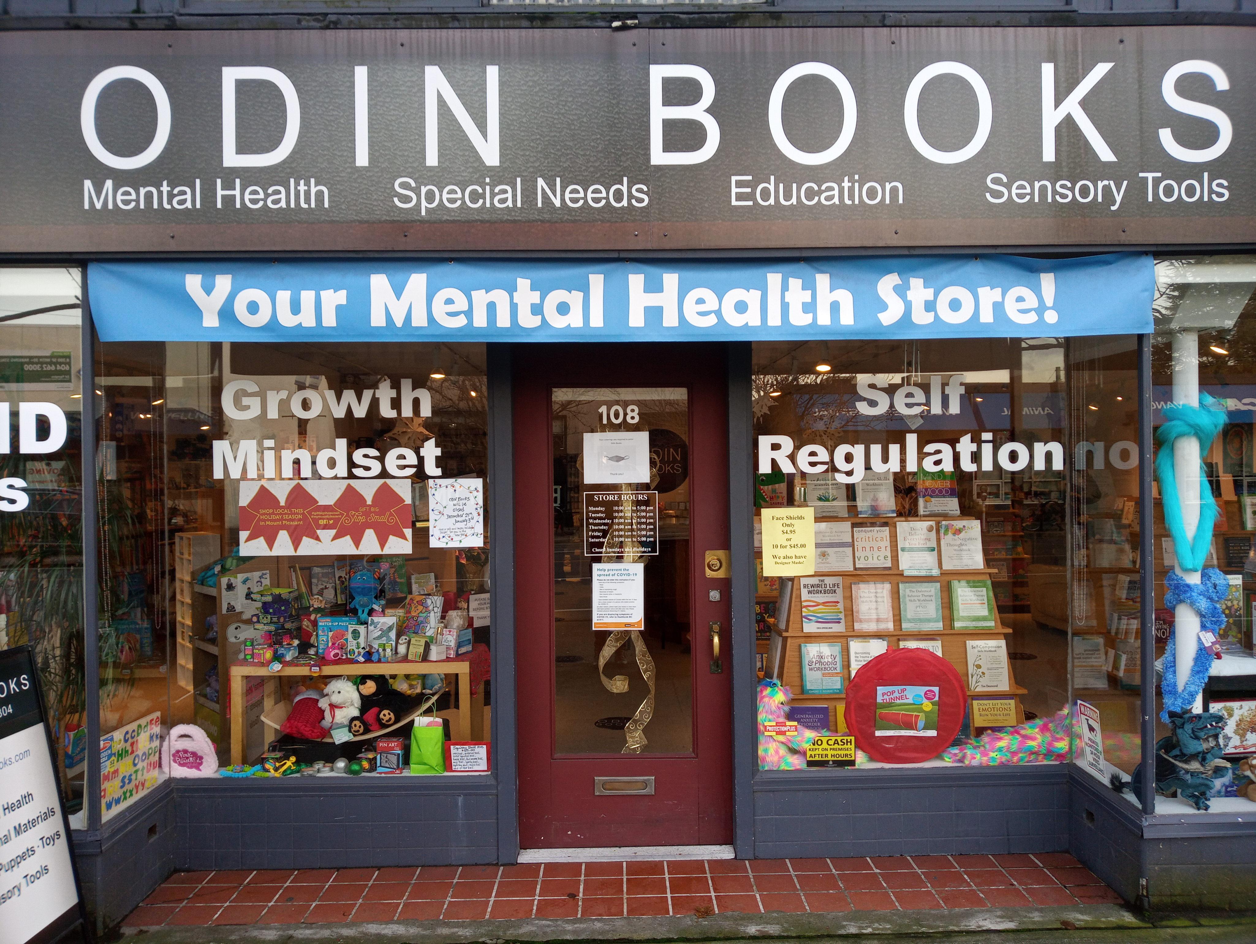 Odin Books storefront