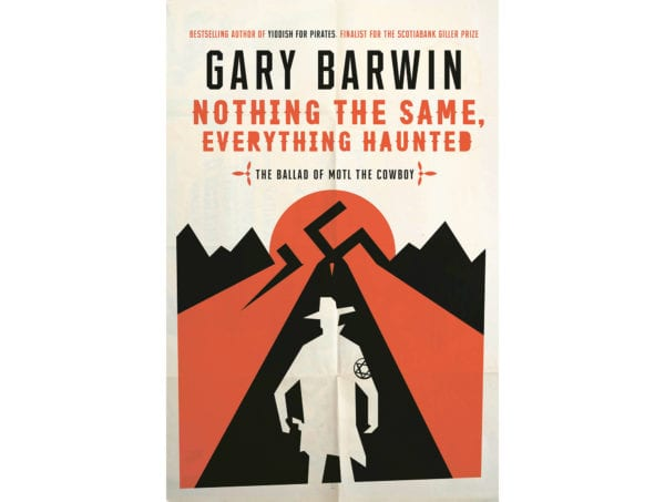 The cover of Gary Barwin's Nothing the Same Everything Haunted