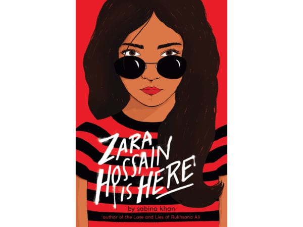 The cover of Sabina Khan's Zara Hossain Is Here