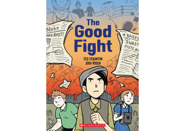 The cover of Ted Staunton's The Good Fight
