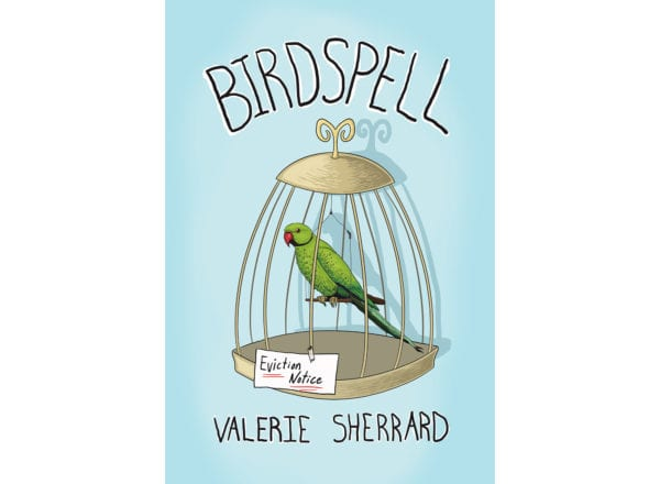 The cover of Valerie Sherrard's Birdspell