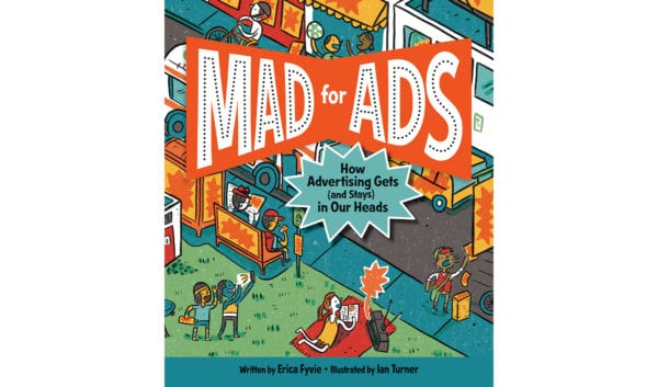 The cover of Erica Fyvie's Mad for Ads