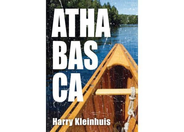 The cover of Harry Kleinhuis's Athabaska