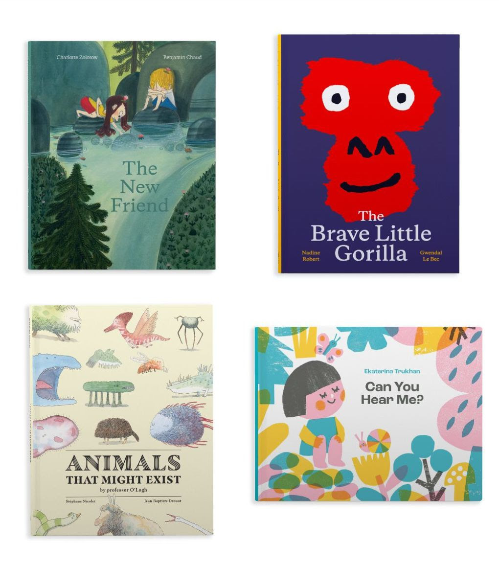 Books in Milky Way Picture Books fall season