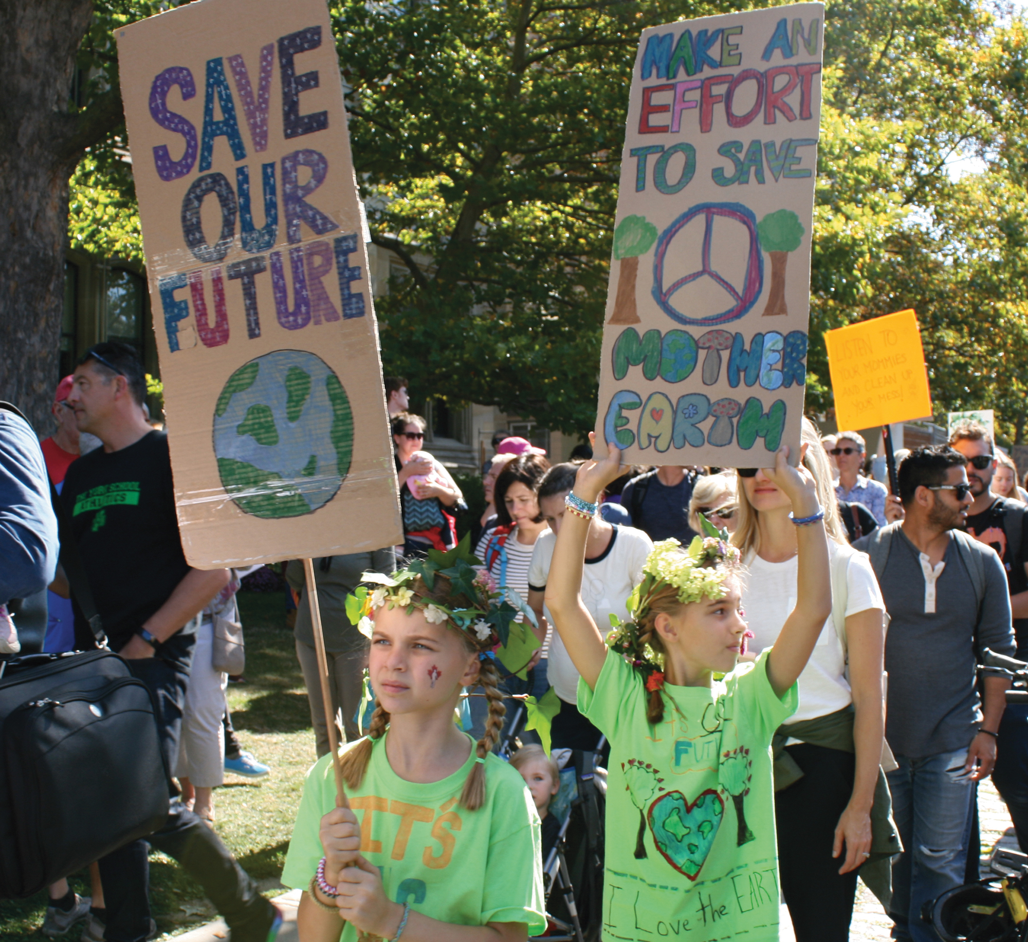 Climate Action Protest