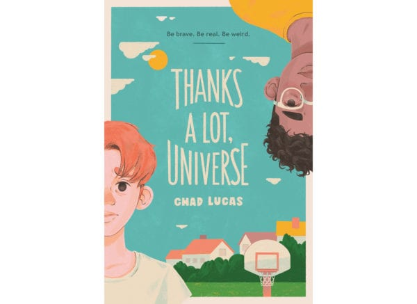 The cover of Chad Lucas's Thanks a Lot Universe