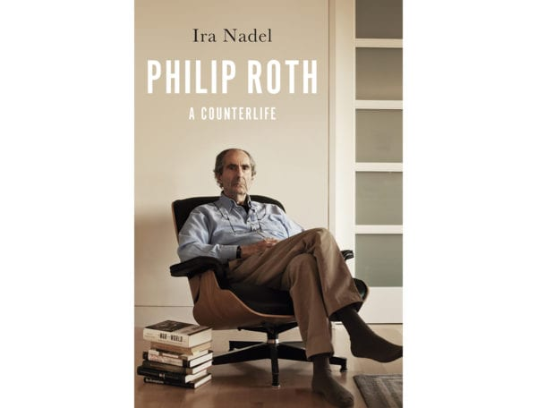 The cover of Ira Nadel's Philip Roth A Counterlife