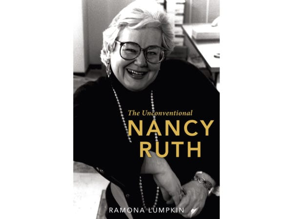 The cover of Ramona Lumpkin's The Unconventional Nancy Ruth