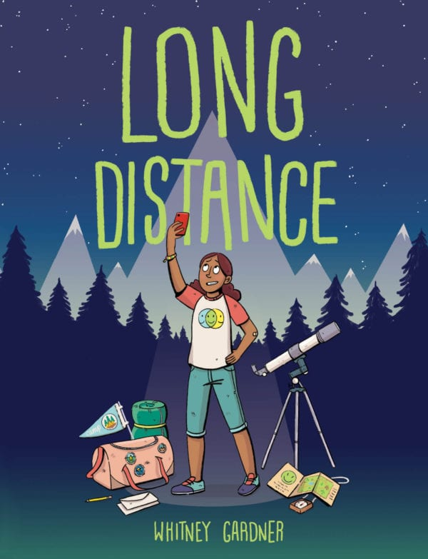 The cover of Whitney Gardner's Long Distance