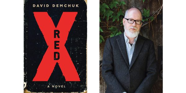 The cover of David Demchuk's Red X