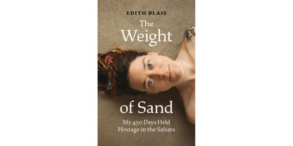 The cover of Edith Blais's The Weight of Sand