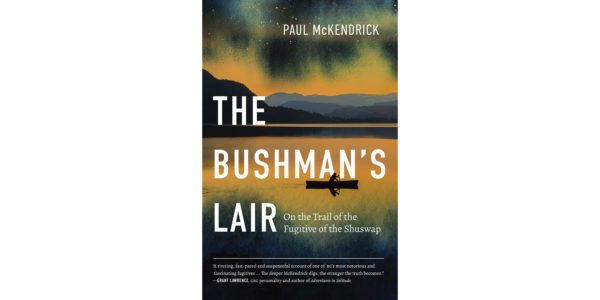 The cover of Paul McKendrick's The Bushman's Lair