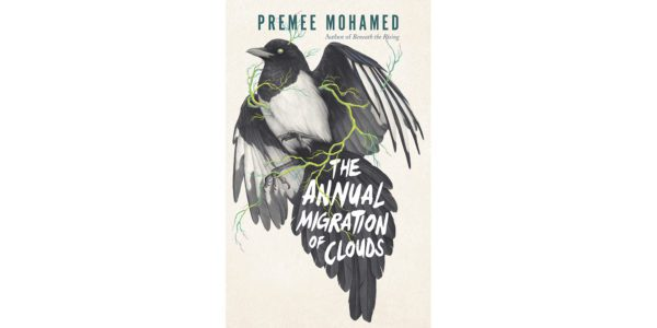 The cover of Premee Mohamed's The Annual Migration of Clouds