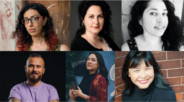 Photos of six contributors to Tongues: On Longing and Belonging through Language